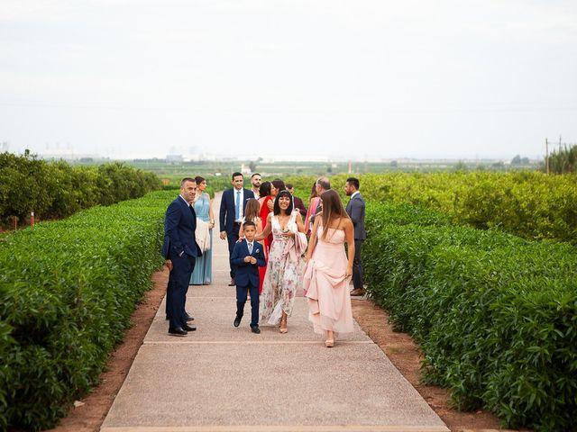 La boda de Jorge y Raquel en Sagunt/sagunto, Valencia 13