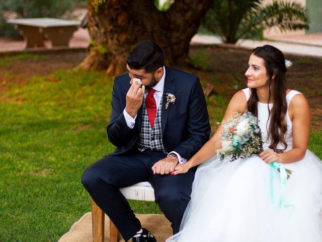 La boda de Jorge y Raquel en Sagunt/sagunto, Valencia 30
