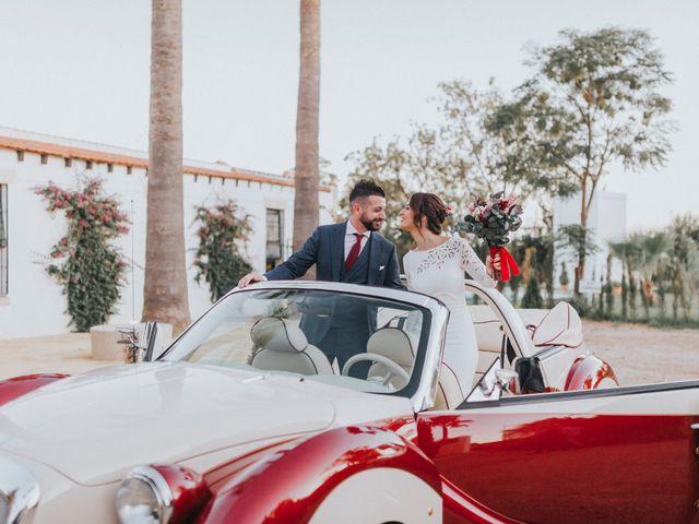 La boda de Israel y Elena en Espartinas, Sevilla 77