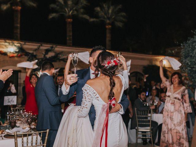 La boda de Israel y Elena en Espartinas, Sevilla 127