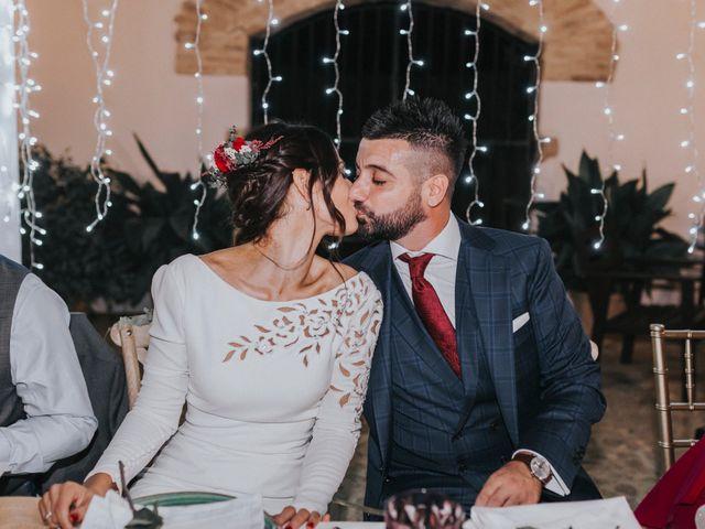 La boda de Israel y Elena en Espartinas, Sevilla 131