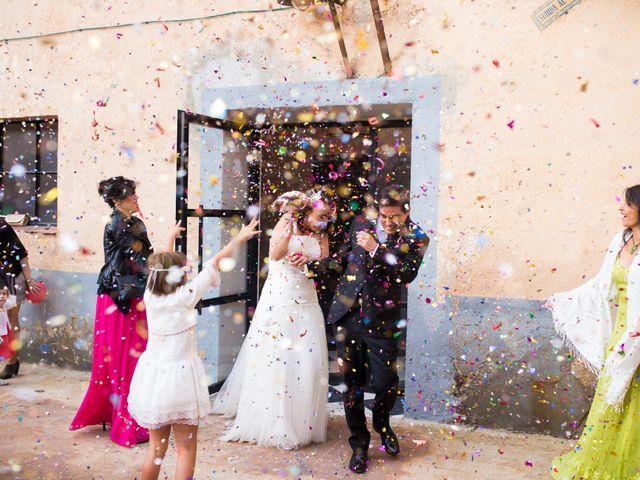 La boda de Adrian y Lydia en Otero De Herreros, Segovia 28