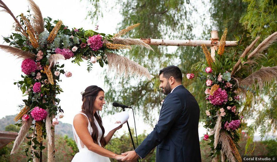 La boda de Jorge y Raquel en Sagunt/sagunto, Valencia