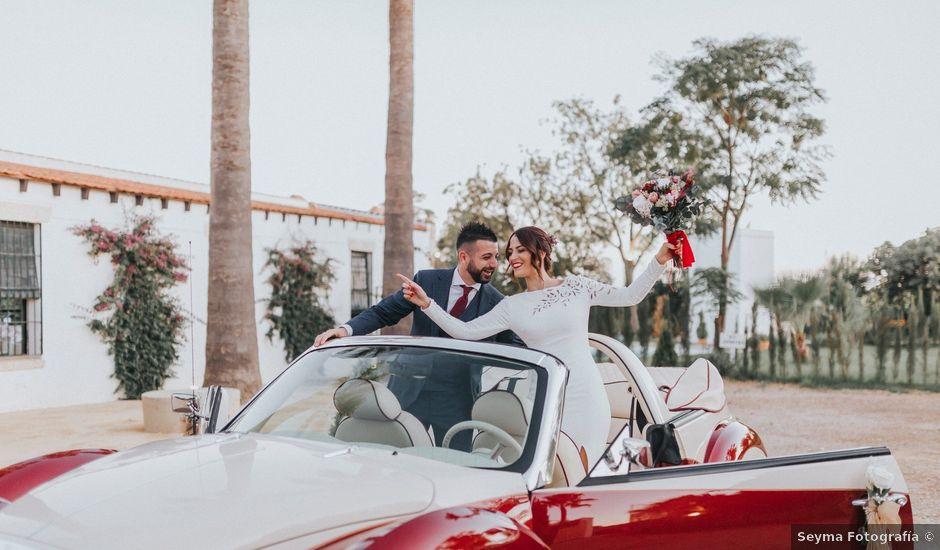 La boda de Israel y Elena en Espartinas, Sevilla