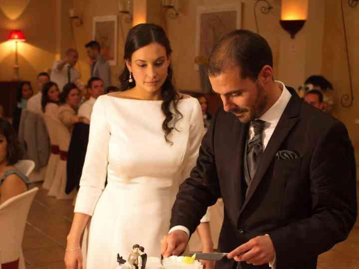 La boda de Manu y Irene