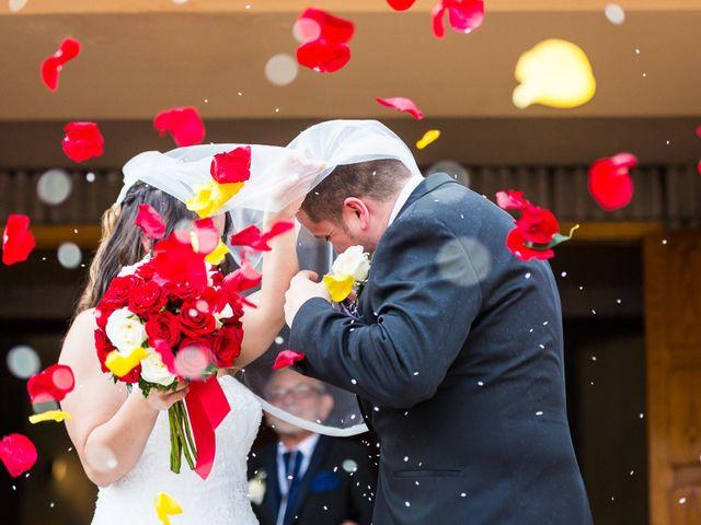 La boda de Alejandro y Patricia en Navalcarnero, Madrid 1