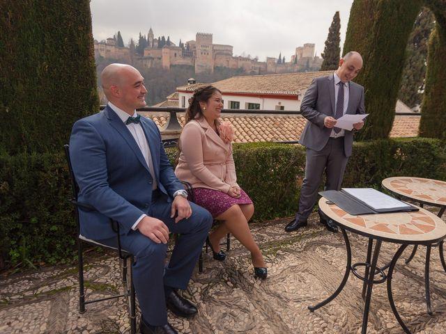 La boda de Juan y Blanca en Granada, Granada 8