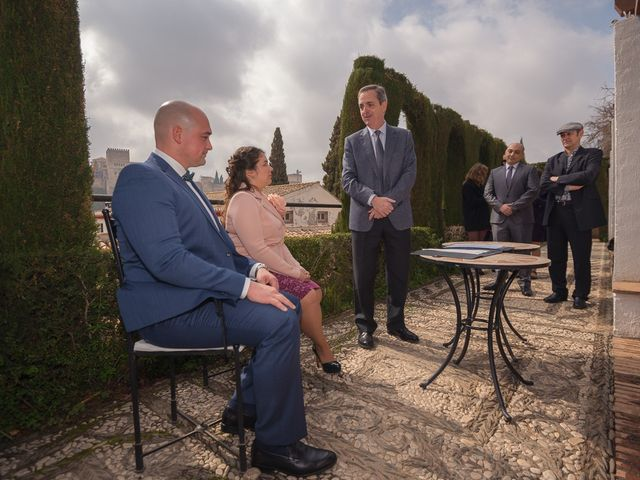 La boda de Juan y Blanca en Granada, Granada 9