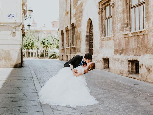 La boda de Ángel y María en Valencia, Valencia 10