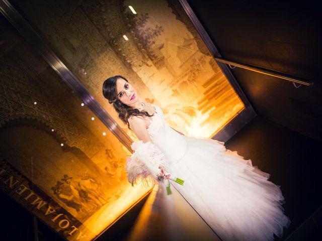 La boda de Eloy y Rocío en San Lorenzo De El Escorial, Madrid 16