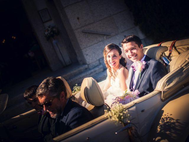 La boda de Eloy y Rocío en San Lorenzo De El Escorial, Madrid 22