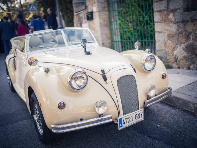 La boda de Eloy y Rocío en San Lorenzo De El Escorial, Madrid 29