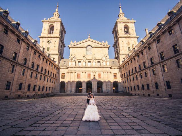 La boda de Eloy y Rocío en San Lorenzo De El Escorial, Madrid 2