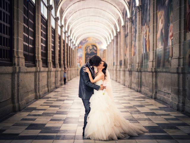 La boda de Eloy y Rocío en San Lorenzo De El Escorial, Madrid 32