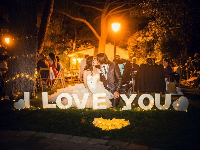 La boda de Eloy y Rocío en San Lorenzo De El Escorial, Madrid 48