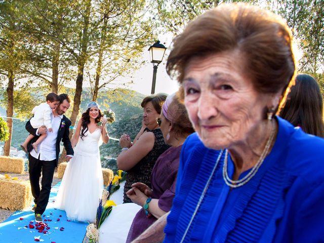 La boda de Miguel y Diana en Sot De Chera, Valencia 8