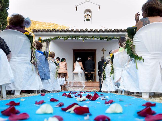 La boda de Miguel y Diana en Sot De Chera, Valencia 11