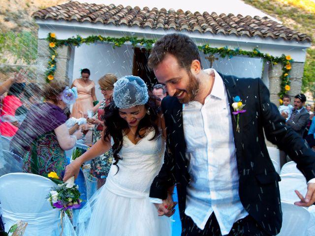 La boda de Miguel y Diana en Sot De Chera, Valencia 16