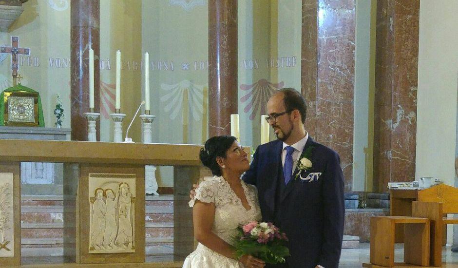 La boda de Alfonso y María del Pilar en L' Hospitalet De Llobregat, Barcelona