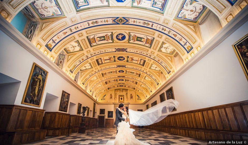 La boda de Eloy y Rocío en San Lorenzo De El Escorial, Madrid