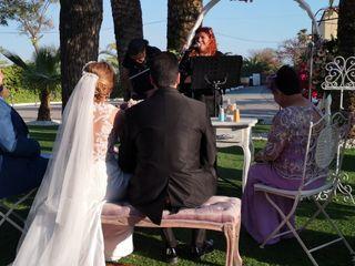 La boda de Cristobal y Reyes