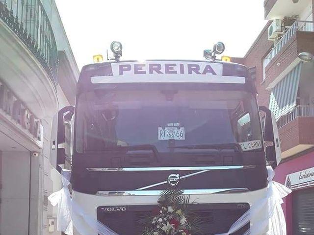 La boda de Carlos y Mila en Santa Amalia, Badajoz 2