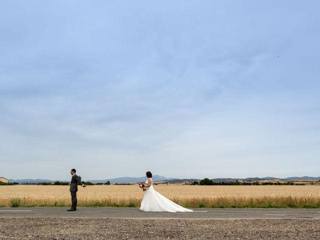 La boda de Sergio y Maitane en Argomaniz, Álava 19