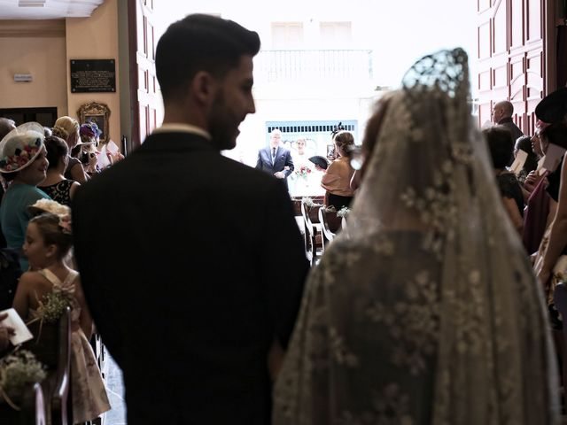 La boda de Marina y José en Alhaurin De La Torre, Málaga 1