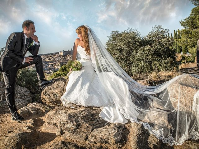 La boda de Mª Carmen y Jonathan