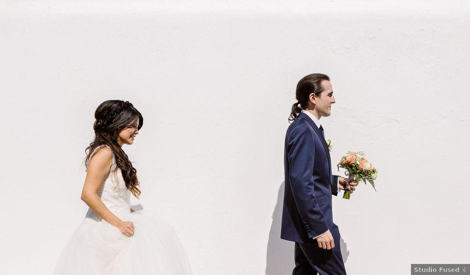 La boda de Francisco y Andrea en Santa Maria (Isla De Ibiza), Islas Baleares