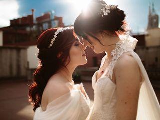 La boda de Anna y Verónica