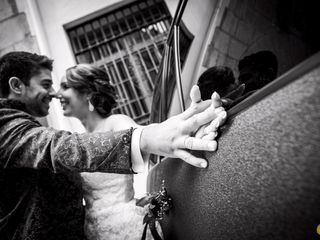La boda de Rebeca y Isaac
