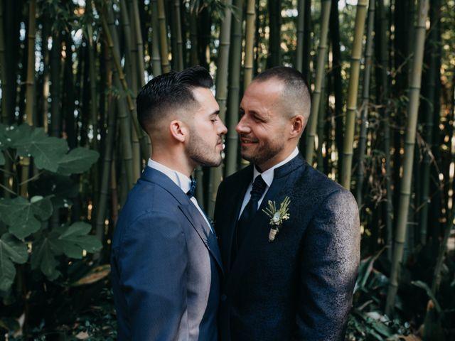 La boda de Alberto y Carlos