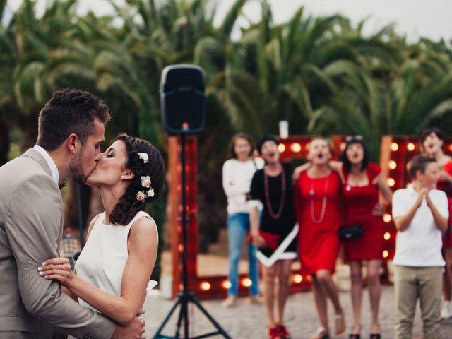 La boda de Alba y Pachi