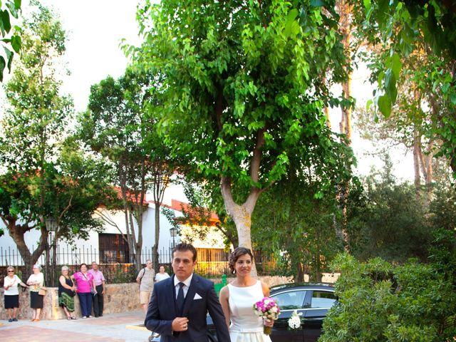 La boda de Miguel y Laura en Salobre, Albacete 24