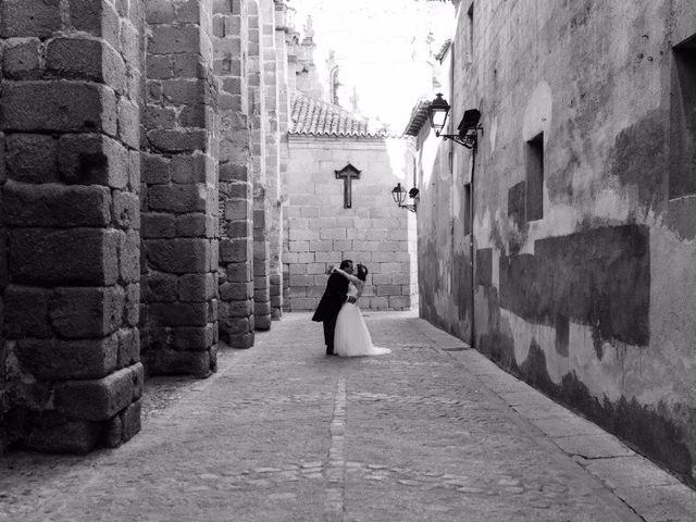 La boda de Rubén y Diana en Ávila, Ávila 1