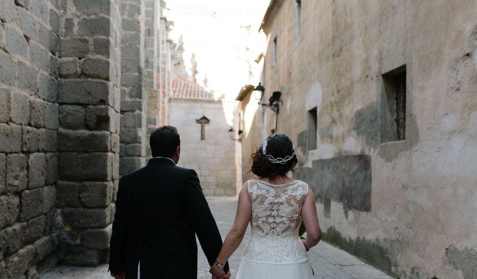 La boda de Rubén y Diana en Ávila, Ávila