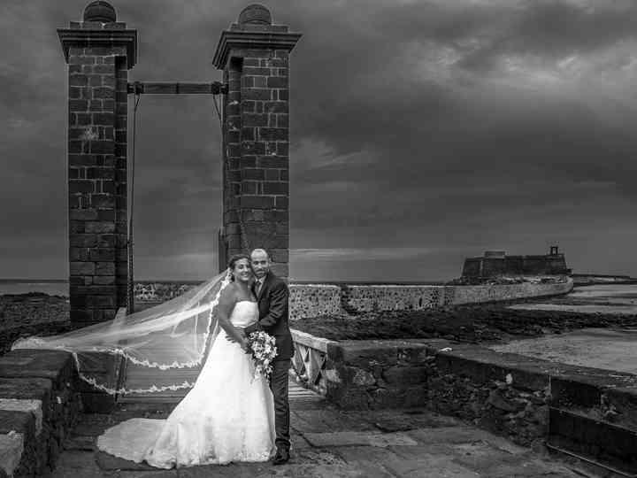 La boda de Azahara y Jacopo
