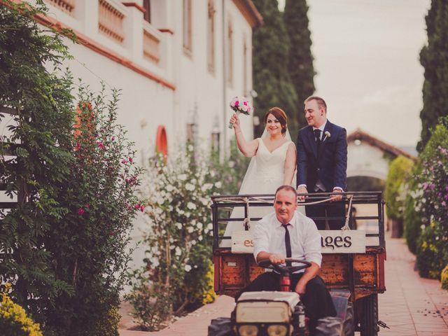 La boda de Miguel y Mireia en L' Ametlla Del Valles, Barcelona 205