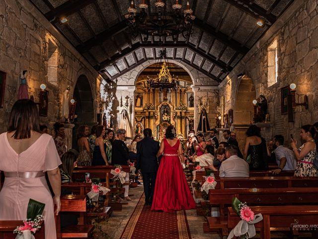 La boda de Ani y Rodrigo en Vilaboa (Graña), Pontevedra 4
