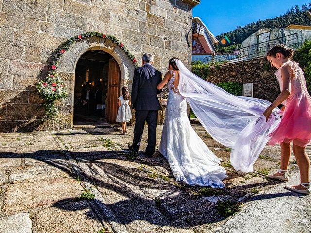 La boda de Ani y Rodrigo en Vilaboa (Graña), Pontevedra 5