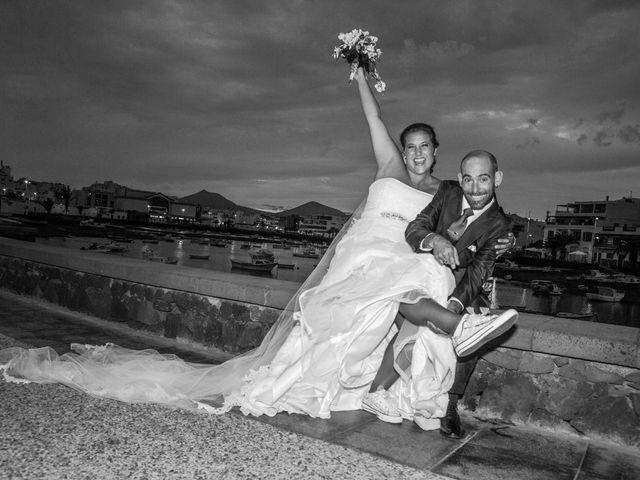 La boda de Jacopo y Azahara en Playa Blanca (Yaiza), Las Palmas 32