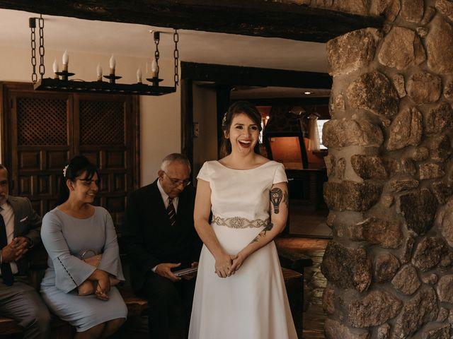 La boda de Jose y Hilda en Rascafria, Madrid 26