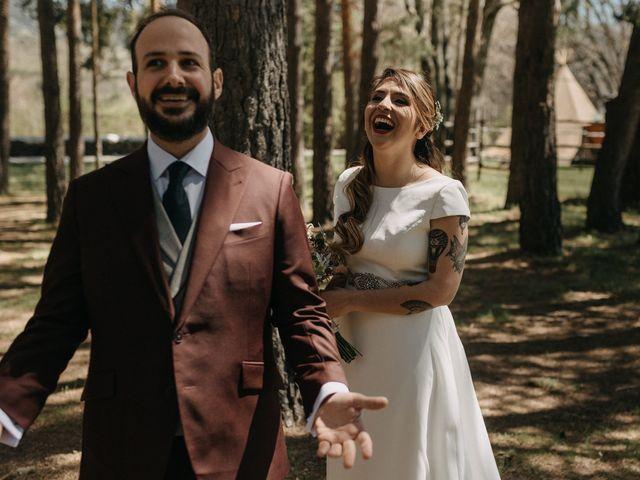 La boda de Jose y Hilda en Rascafria, Madrid 33