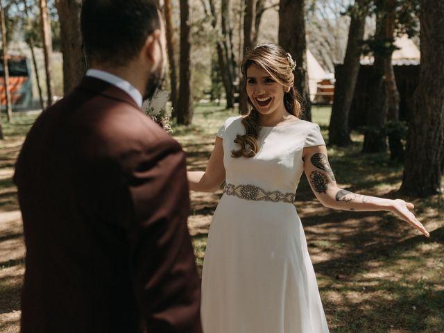 La boda de Jose y Hilda en Rascafria, Madrid 34