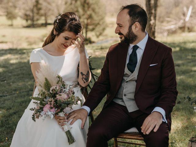 La boda de Jose y Hilda en Rascafria, Madrid 1