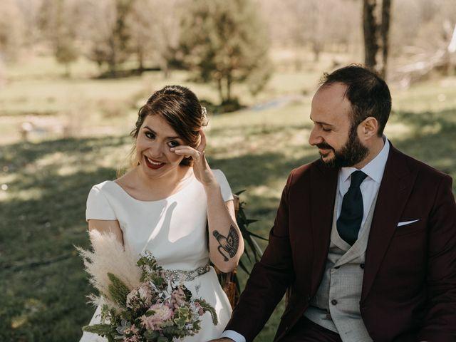 La boda de Jose y Hilda en Rascafria, Madrid 41