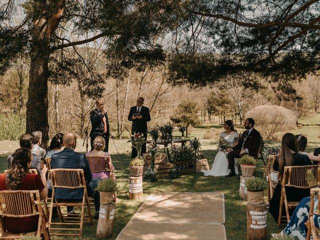 La boda de Jose y Hilda en Rascafria, Madrid 44
