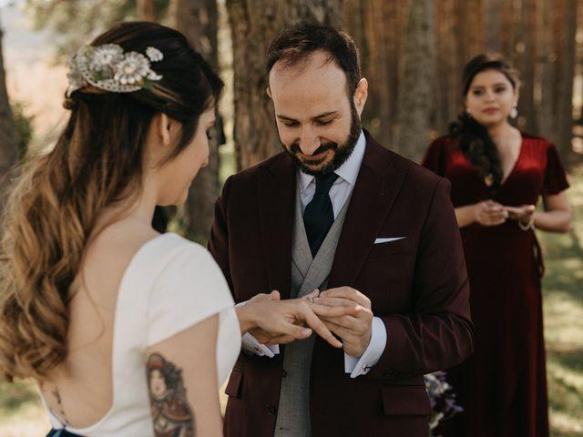 La boda de Jose y Hilda en Rascafria, Madrid 48