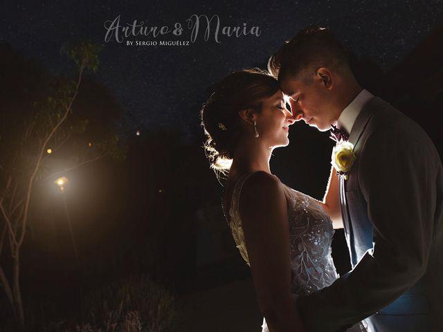La boda de Arturo y Maria en Cartagena, Murcia 1